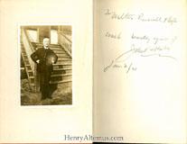 Autograph Inscription