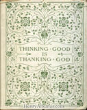 Thinking Good is Thanking God